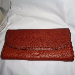 FOSSIL CLE0 CLUTCH WALLET